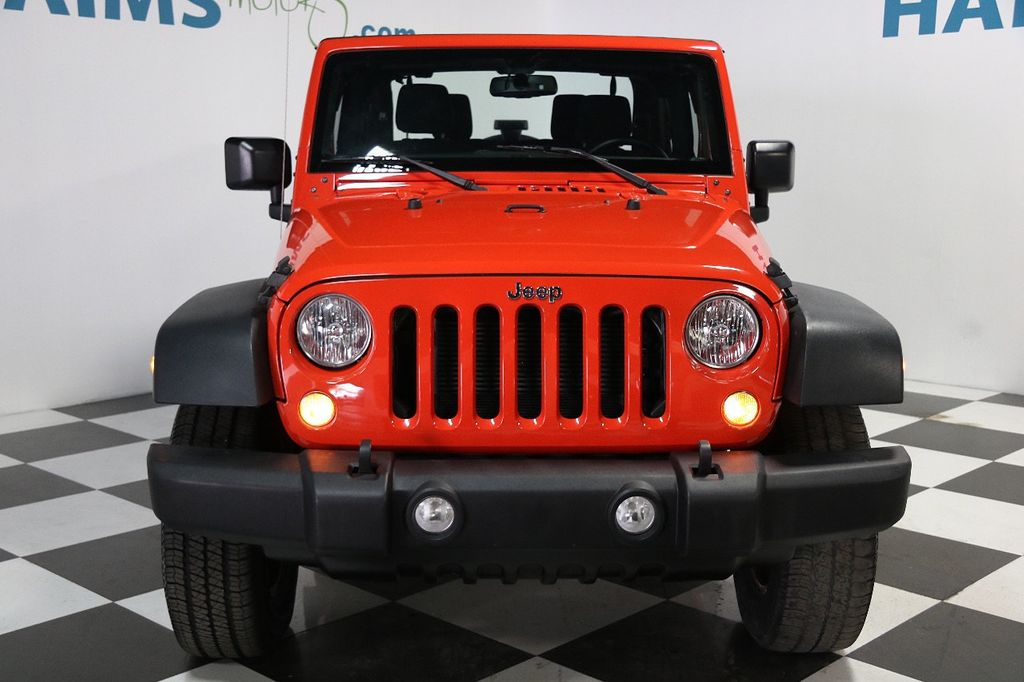 2015 Jeep Wrangler 4WD 2dr Sport - 16128698 - 1
