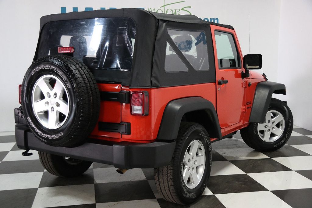 2015 Jeep Wrangler 4WD 2dr Sport - 16128698 - 5