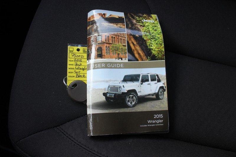 2015 Jeep Wrangler 4WD 2dr Sport - 18917777 - 20