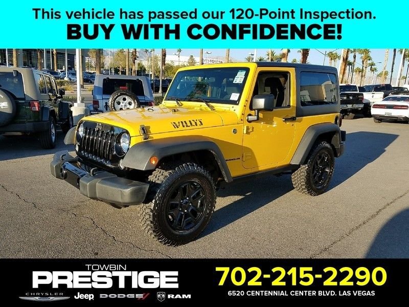 2015 Jeep Wrangler 4WD 2dr Sport - 17002661 - 0