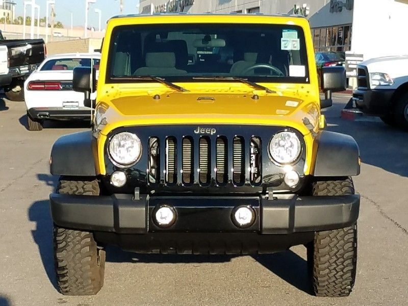 2015 Jeep Wrangler 4WD 2dr Sport - 17002661 - 1
