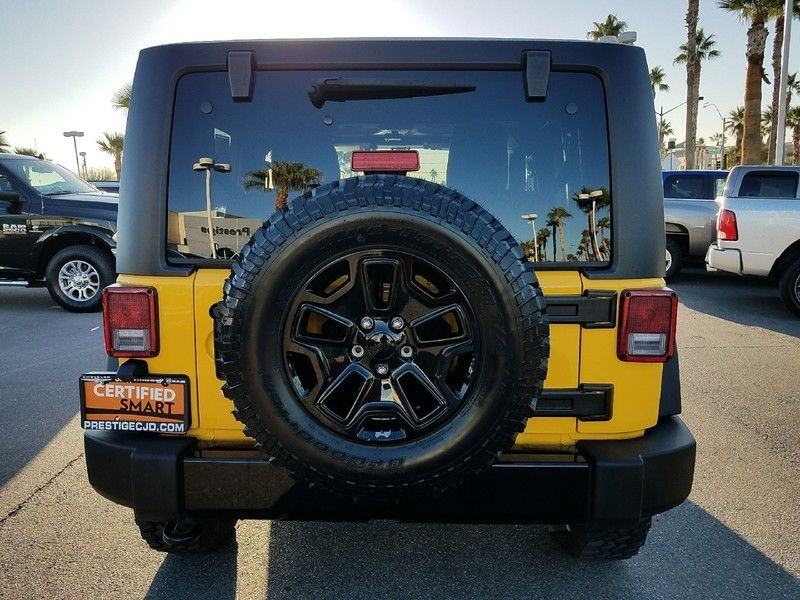 2015 Jeep Wrangler 4WD 2dr Sport - 17002661 - 5