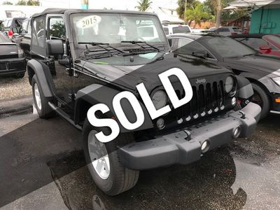 2015 Jeep Wrangler 4WD 2dr Sport