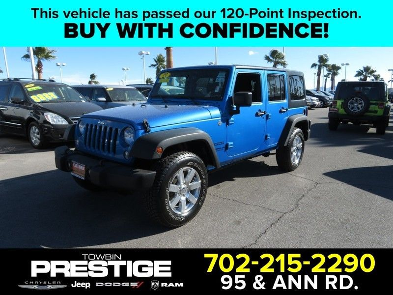 2015 Jeep WRANGLER WRANGLER UNLIMITED SPORT - 17154512 - 0