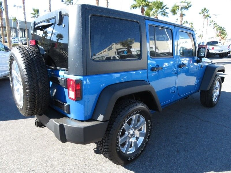 2015 Jeep WRANGLER WRANGLER UNLIMITED SPORT - 17154512 - 11