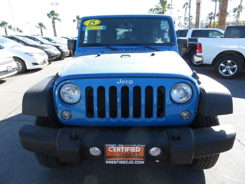 2015 Jeep WRANGLER WRANGLER UNLIMITED SPORT - 17154512 - 1