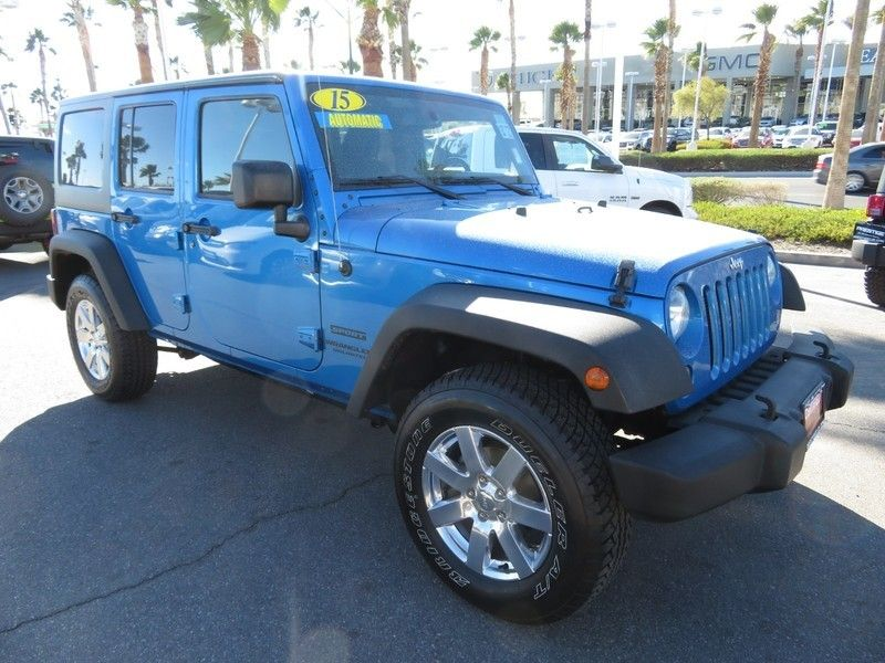 2015 Jeep WRANGLER WRANGLER UNLIMITED SPORT - 17154512 - 2