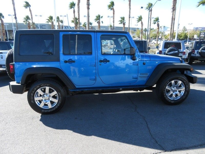 2015 Jeep WRANGLER WRANGLER UNLIMITED SPORT - 17154512 - 3