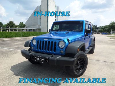2015 Jeep Wrangler Unlimited 4WD 4dr Freedom Edition SUV