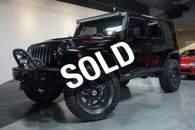 2015 Jeep Wrangler Unlimited 4WD 4dr Rubicon SUV