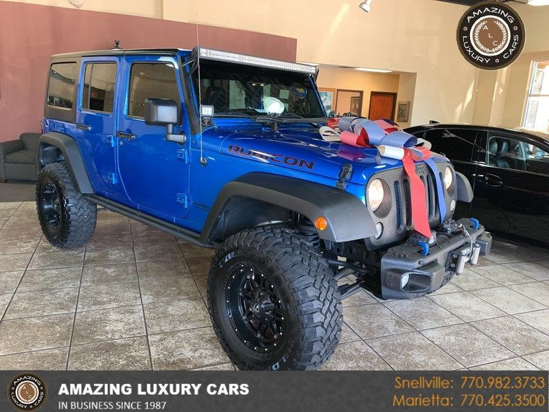 2015 Jeep Wrangler Unlimited 4WD 4dr Rubicon Hard Rock - 19435140 - 0
