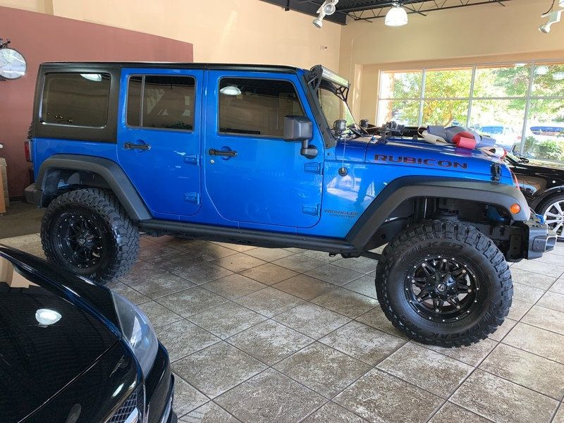 2015 Jeep Wrangler Unlimited 4WD 4dr Rubicon Hard Rock - 19435140 - 9