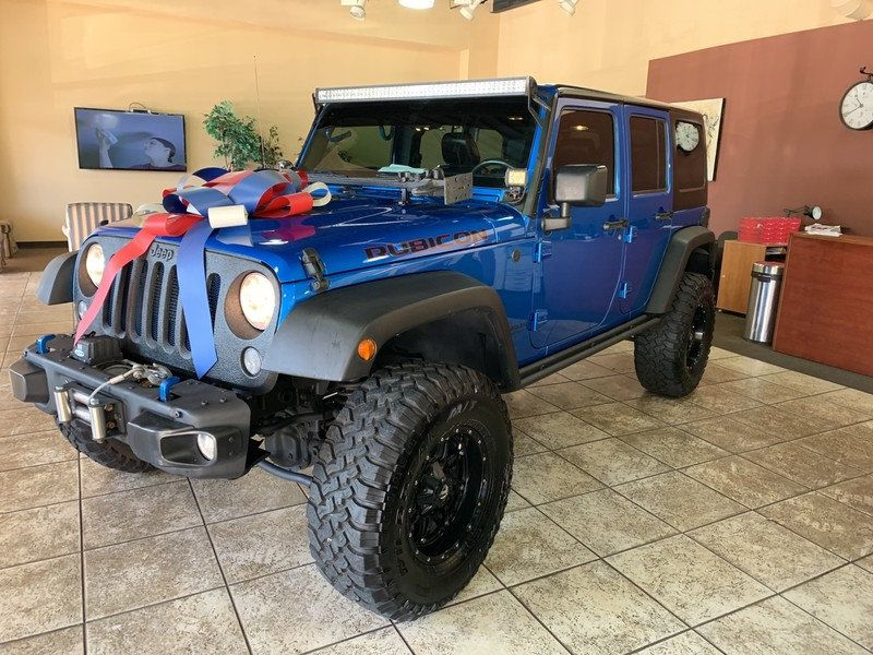 2015 Jeep Wrangler Unlimited 4WD 4dr Rubicon Hard Rock - 19435140 - 2