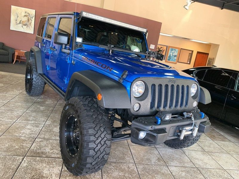 2015 Jeep Wrangler Unlimited 4WD 4dr Rubicon Hard Rock - 19435140 - 45