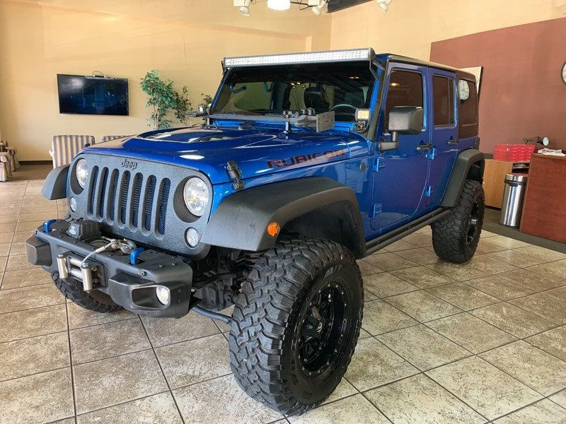 2015 Jeep Wrangler Unlimited 4WD 4dr Rubicon Hard Rock - 19435140 - 47