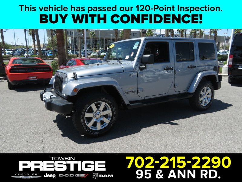 2017 Jeep Wrangler Unlimited 4wd 4dr Sahara 17659374 0