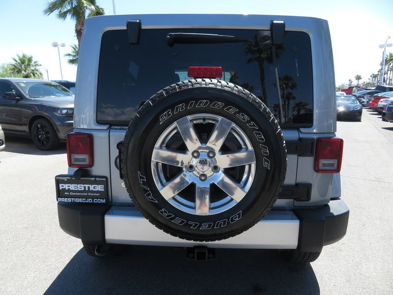 2015 Jeep Wrangler Unlimited 4WD 4dr Sahara - 17659374 - 9