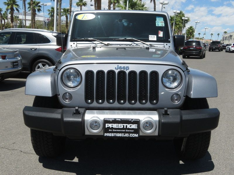 2015 Jeep Wrangler Unlimited 4WD 4dr Sahara - 17659374 - 1