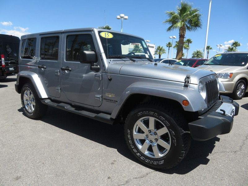 2015 Jeep Wrangler Unlimited 4WD 4dr Sahara - 17659374 - 2