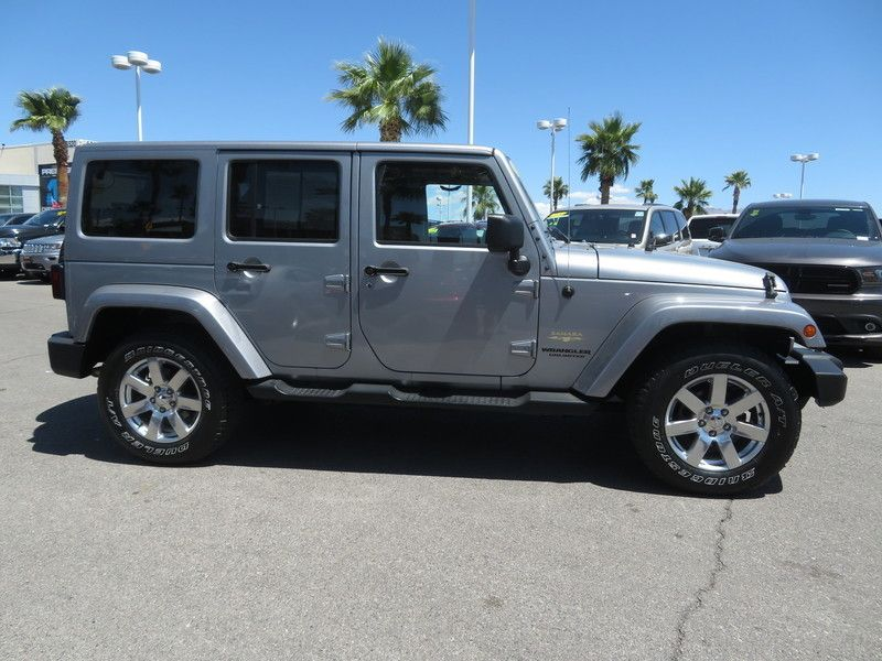2015 Jeep Wrangler Unlimited 4WD 4dr Sahara - 17659374 - 3
