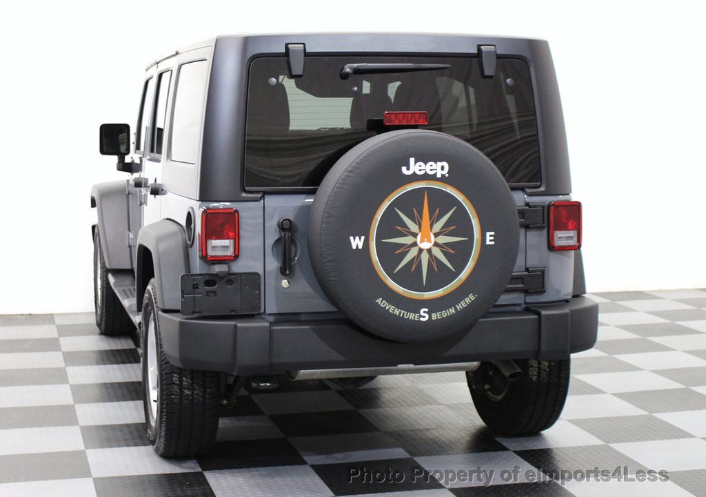 2017 Jeep Wrangler Unlimited Certified Sport 4wd 6 Sd 14370574 16
