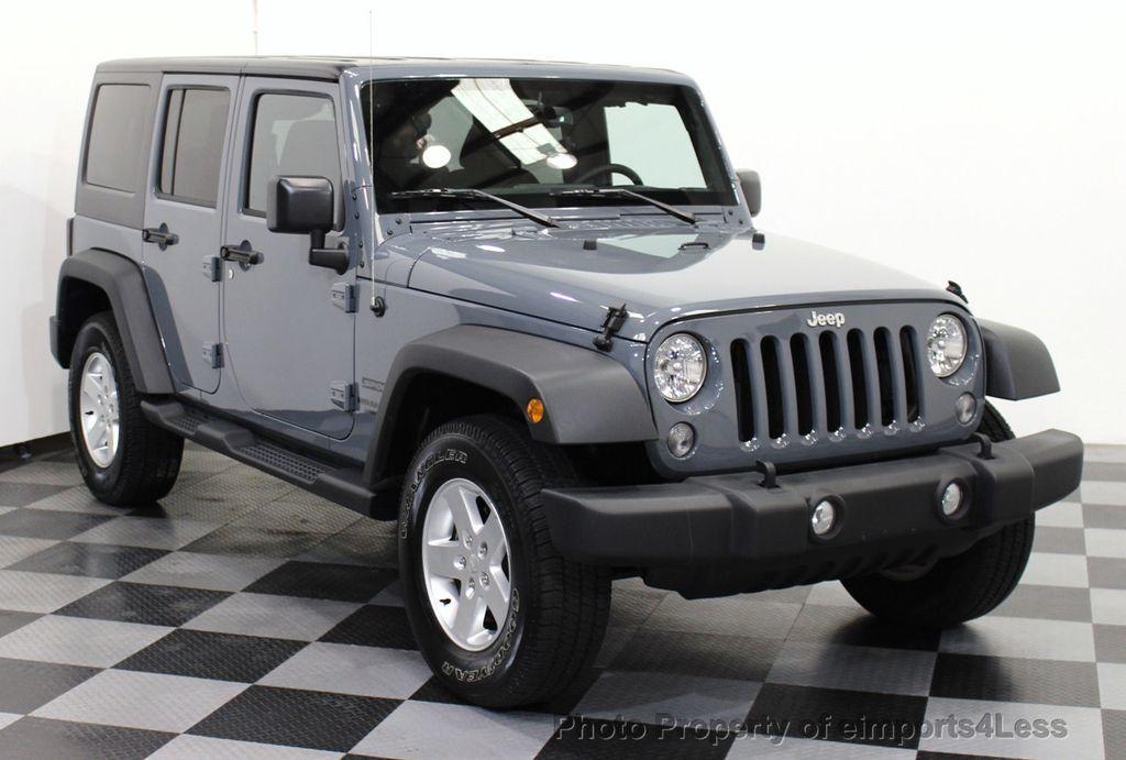 2015 used jeep wrangler unlimited certified wrangler. Black Bedroom Furniture Sets. Home Design Ideas