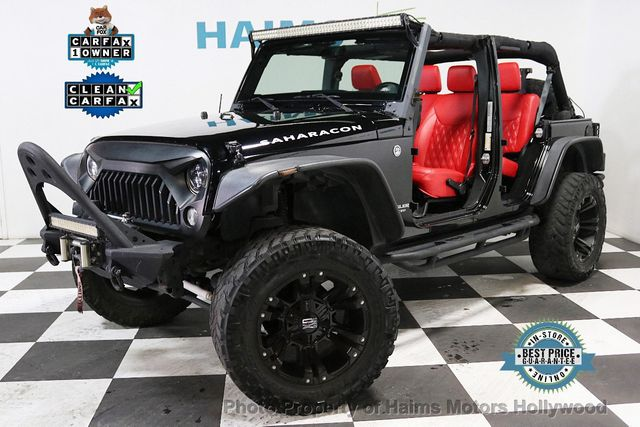 Custom Jeeps For Sale >> 2015 Used Jeep Wrangler Unlimited Custom Jeeps At Haims Motors Serving Fort Lauderdale Hollywood Miami Fl Iid 19208130