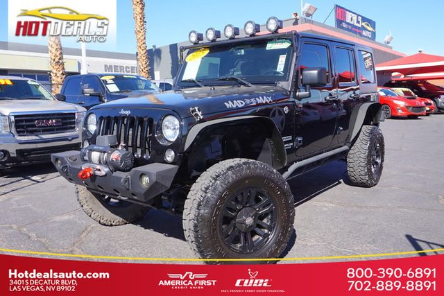 2015 Used Jeep Wrangler Unlimited Premium Wheels Oversize Off Road Tires Lift Kit Light Bar At Hot Deals Auto Serving Las Vegas Nv Iid 19495931