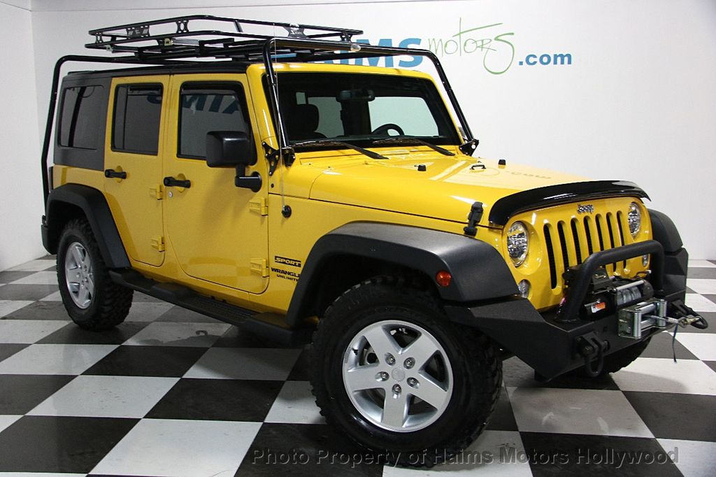 2015 Used Jeep Wrangler Unlimited Sport At Haims Motors