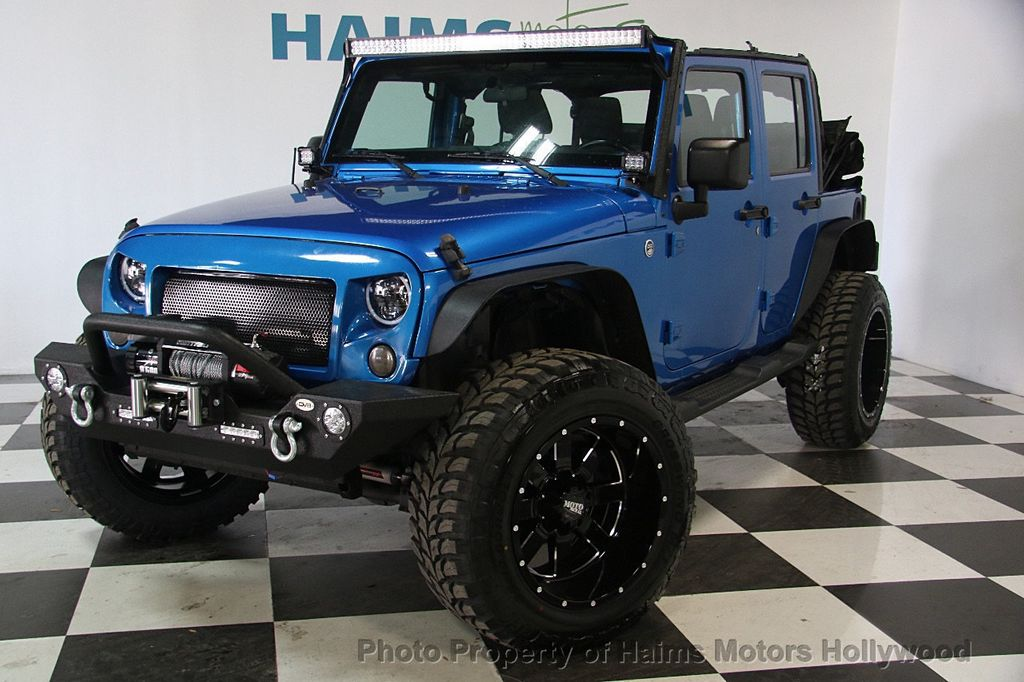2015 Jeep Wrangler Unlimited Sport - 17297353 - 1