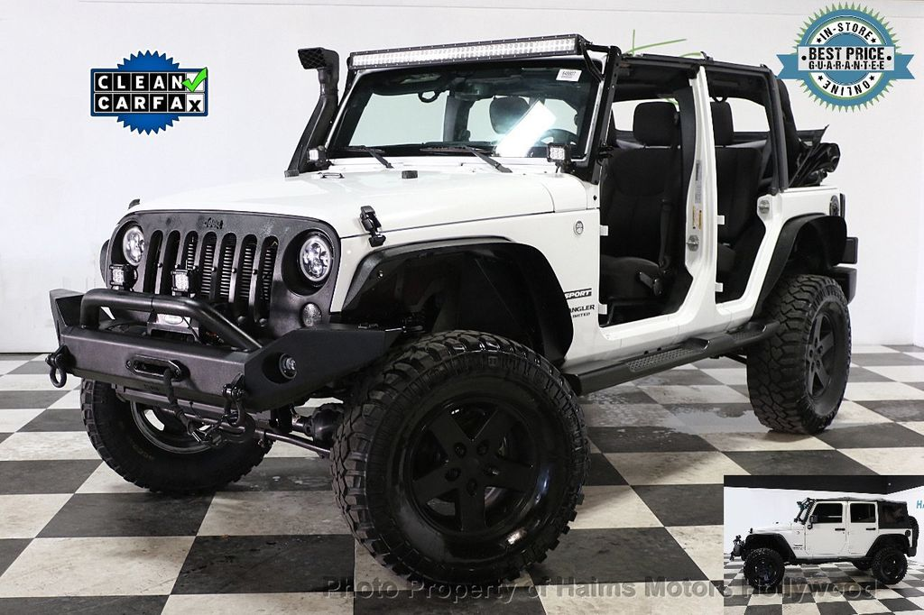 2015 Jeep Wrangler Unlimited Sport - 17793771 - 0