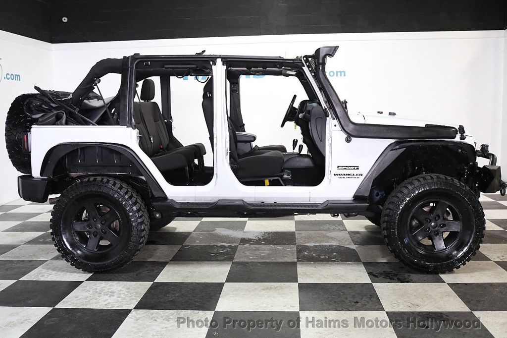 2015 Jeep Wrangler Unlimited Sport - 17793771 - 8