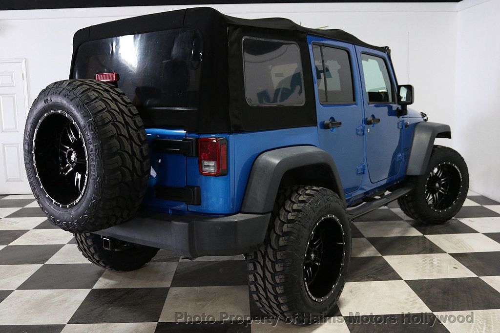 2015 Jeep Wrangler Unlimited Sport - 18571047 - 15