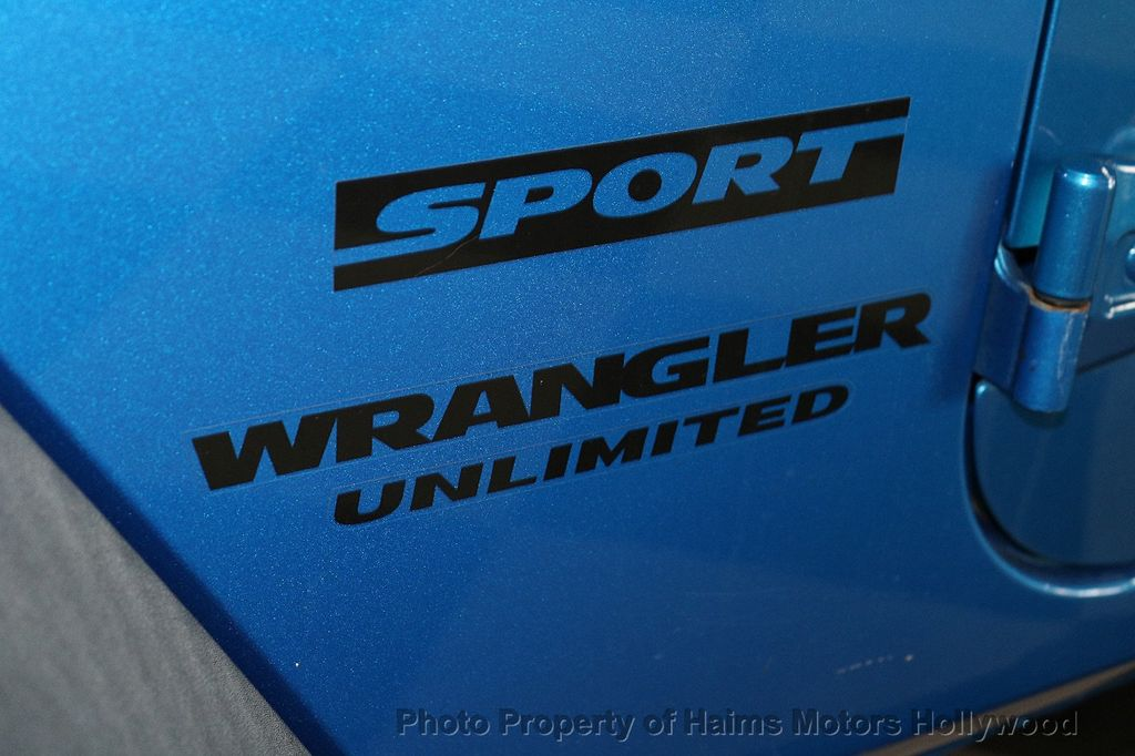 2015 Jeep Wrangler Unlimited Sport - 18571047 - 22