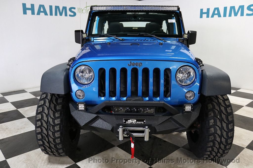 2015 Jeep Wrangler Unlimited Sport - 18571047 - 3