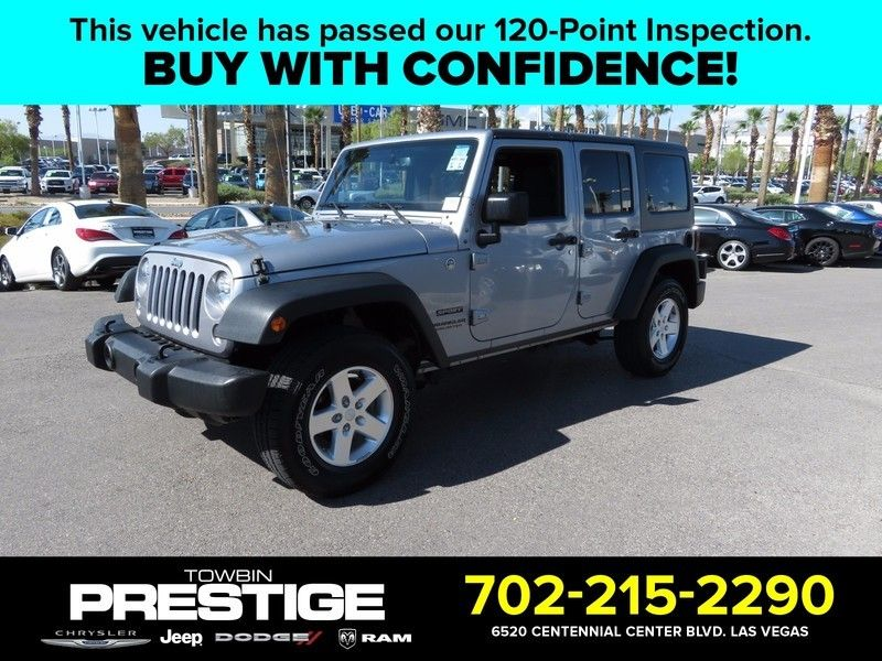 2015 Jeep WRANGLER UNLIMITED SPORT C 4X4 - 16831782 - 0