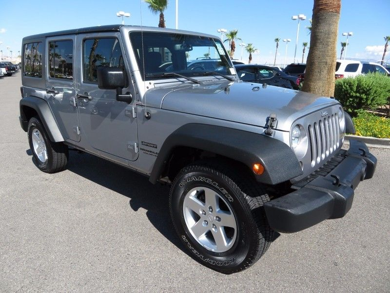 2015 Jeep WRANGLER UNLIMITED SPORT C 4X4 - 16831782 - 2