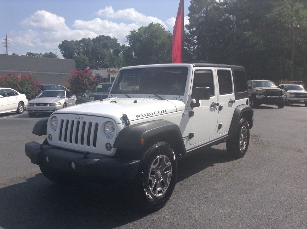 2015 Used Jeep Wrangler Unlimited Unlimited Rubicon At City Auto Sales Of Hueytown Al Iid 20134283