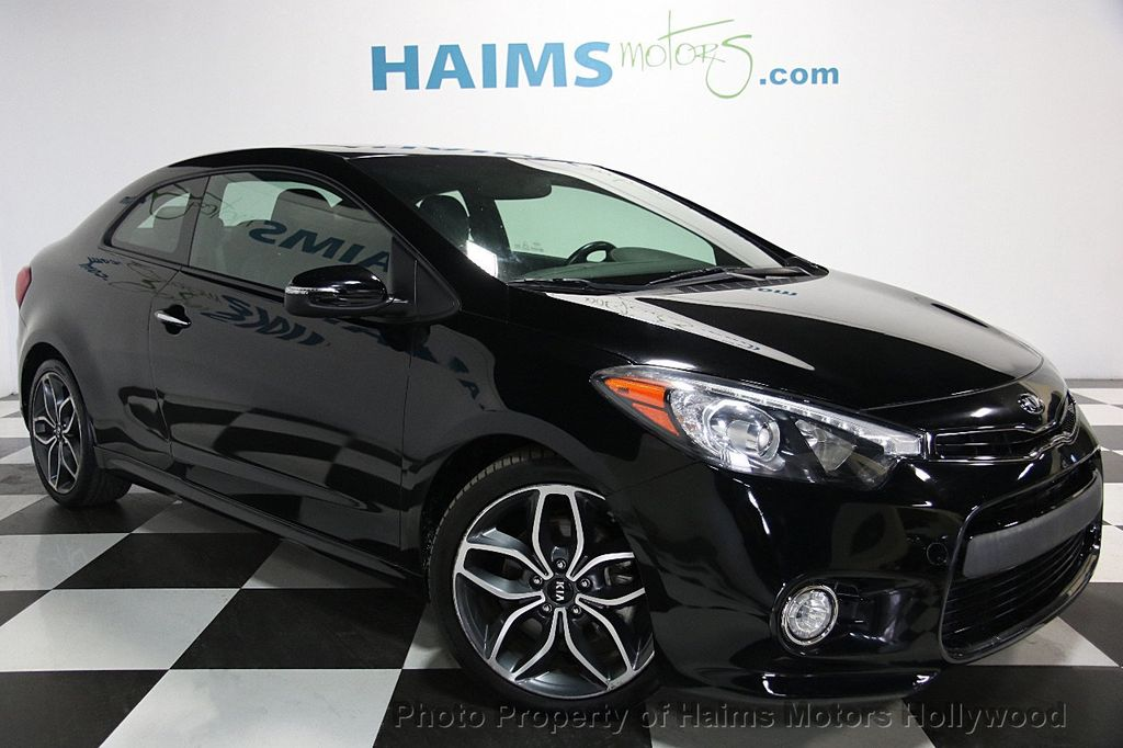 2015 used kia forte koup 2dr coupe automatic sx at haims motors ft lauderdale serving lauderdale. Black Bedroom Furniture Sets. Home Design Ideas