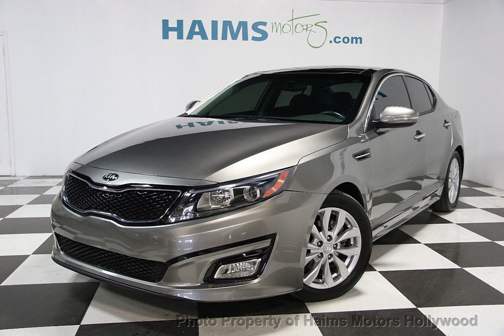 2015 used kia optima 4dr sedan ex at haims motors serving fort lauderdale hollywood miami fl. Black Bedroom Furniture Sets. Home Design Ideas