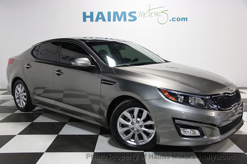 2015 Kia Optima 4dr Sedan EX - 16313553 - 2