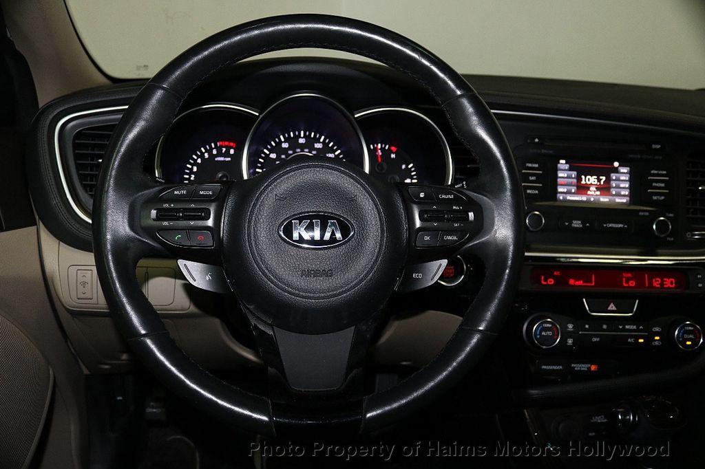 2015 Kia Optima 4dr Sedan EX - 17656290 - 27