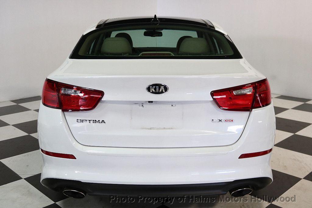 2015 Kia Optima 4dr Sedan EX - 17656290 - 5