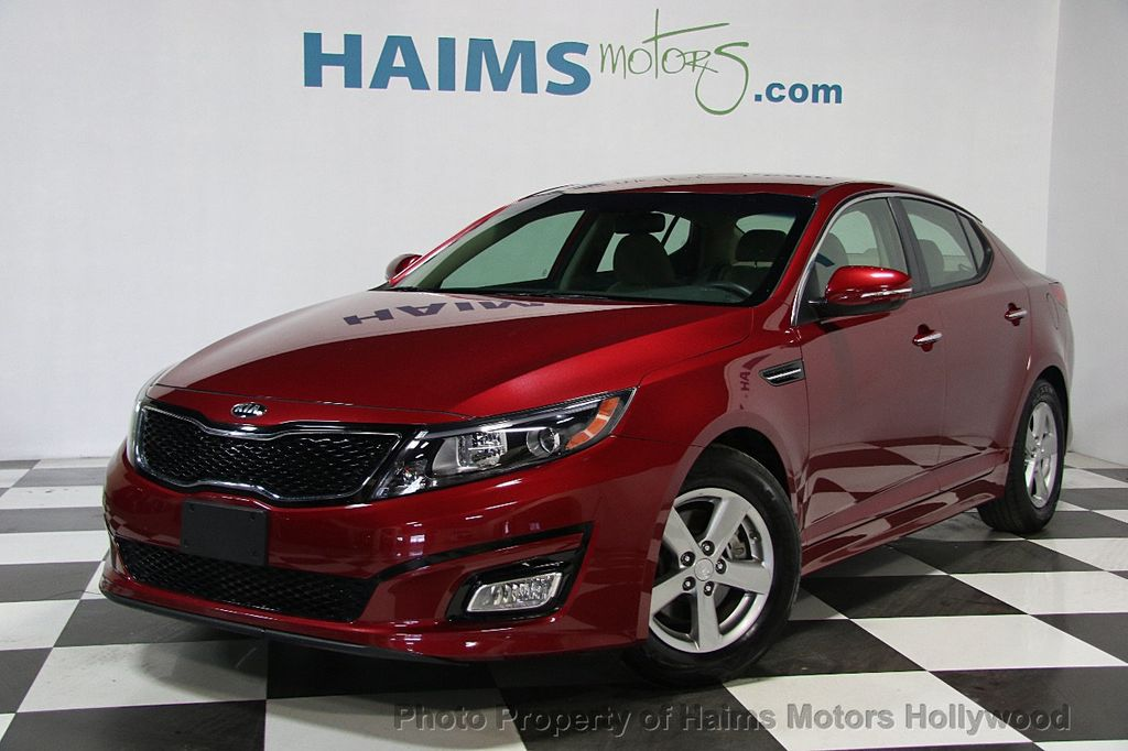 2015 Kia Optima 4dr Sedan LX - 16276900 - 0