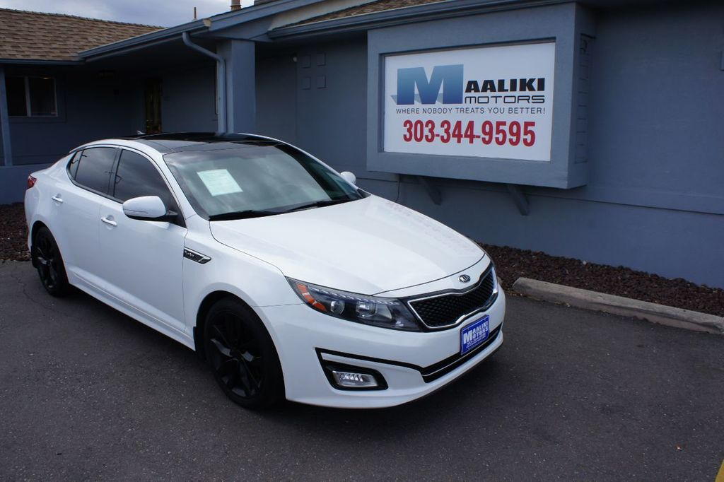 2015 Kia Optima 4dr Sedan SX Turbo - 18155871
