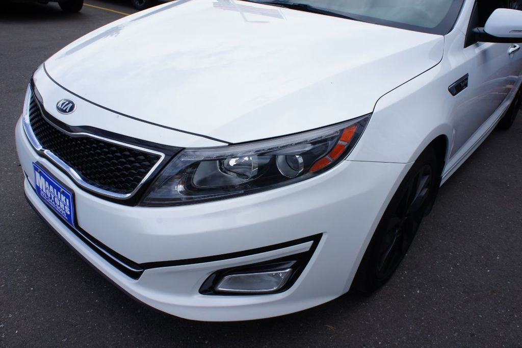 2015 Kia Optima 4dr Sedan SX Turbo - 18155871 - 28