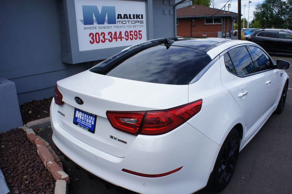 2015 Kia Optima 4dr Sedan SX Turbo - 18155871 - 3