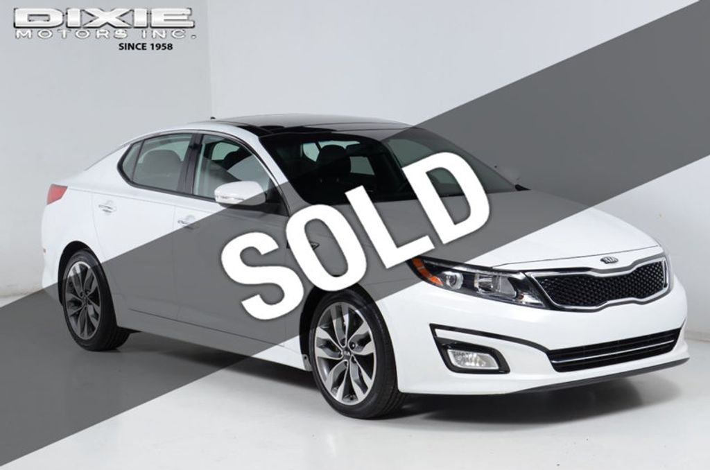 2015 Kia Optima SX TURBO NAV PANO ROOF HEATED & COOLED FRONT SEATS - 16576132 - 0