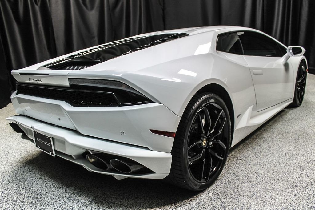 2015 used lamborghini huracan 2dr coupe lp 610-4 at auto outlet