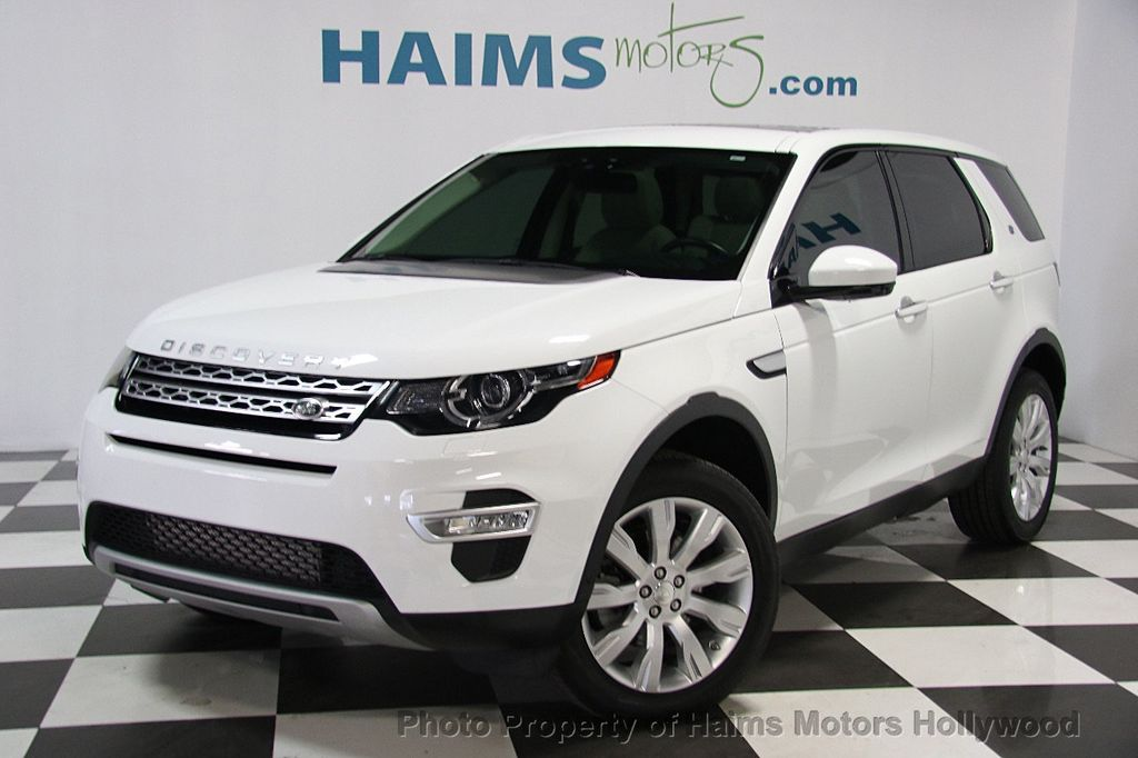 2015 Land Rover Discovery Sport AWD 4dr HSE LUX - 16409276 - 0